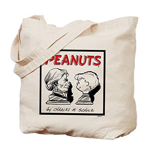CafePress–Beethoven V. Schroeder–Gamuza de bolsa de lona bolsa, bolsa de la compra