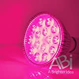 ABI 12W Broad Spectrum LED Grow Light Bulb for Growing and Flowering Indoor Plants