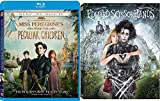 Visionary Director Tim Burton Edward Scissorhands Blu Ray + Miss Peregrine's Home for Peculiar Children Fantasy 2 film Double Feature Bundle