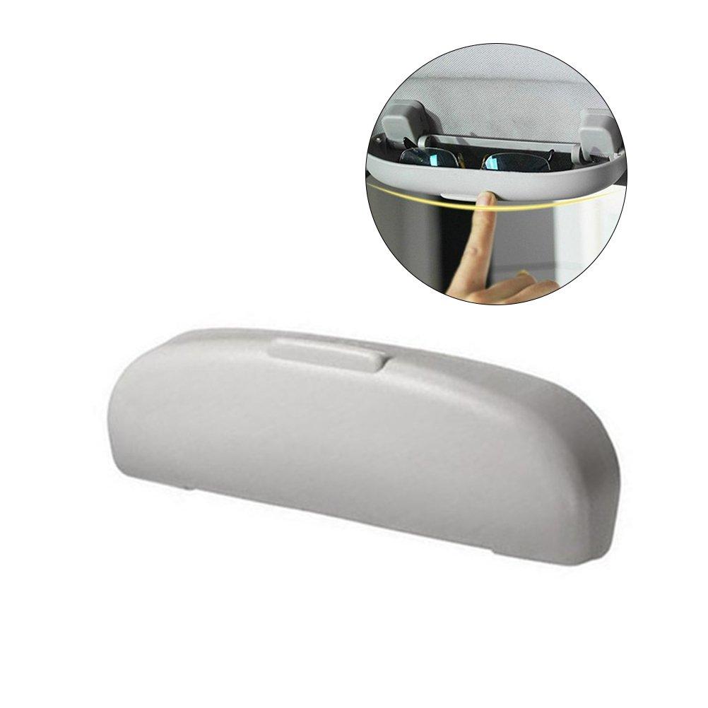 Portaocchiali auto, WINOMO Custodia occhiali auto anteriore di 21.5 x 6 x 3cm BGM144418CTRM35353