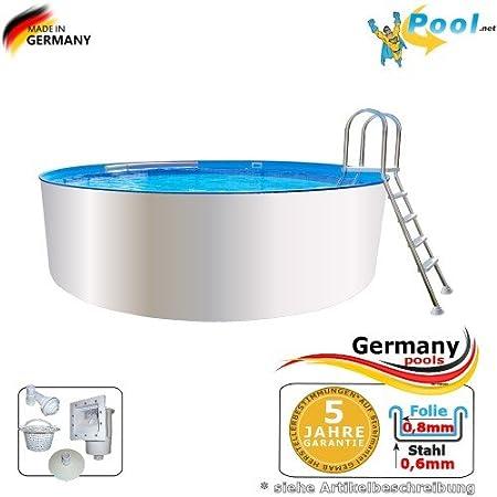 Stahlwandpool 4 00 X 1 20 Pool Rundpool 4 M Swimmingpool 4 0 X 1 2