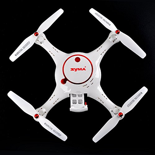 Crazepony SYMA X5UC RC Quadcopter HD Camera 2.4G 4 Channel 6-Axis with Two Batteries