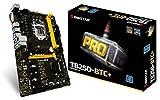 BIOSTAR TB250-BTC+ 8 GPU SUPPORT LGA 1151 Core i7/i5/i3 LGA1151 Intel B250 DDR4