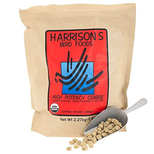 Harrisons High Potency Coarse 5lb by Harrison's Bird Foods
