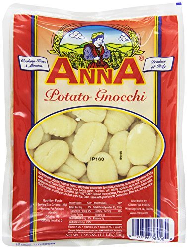 72c2075b832fe Anna Potato Gnocchi, 17.6 Ounce Bags (Pack of 12) - Buy Online in ...