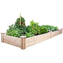 Greenes Fence Cedar Raised Garden Kit 2 Ft. X 8 Ft. X 7 In.