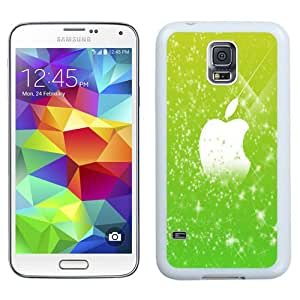 Fashion Custom Designed Cover Case For Samsung Galaxy S5 I9600 G900a G900v G900p G900t G900w Green Flares Apple White Phone Case