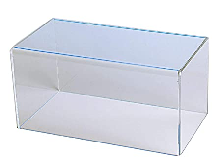 CHOICE ACRYLIC DISPLAYS Rectangular Box Case 5 Sided Display Box with 1 Open Side Measures 8 H x 16 W x 10 D