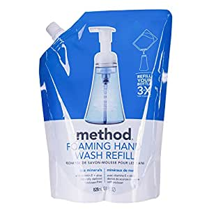 Method Foaming Hand Wash Refill Pouch, Sea Minerals, 28 oz