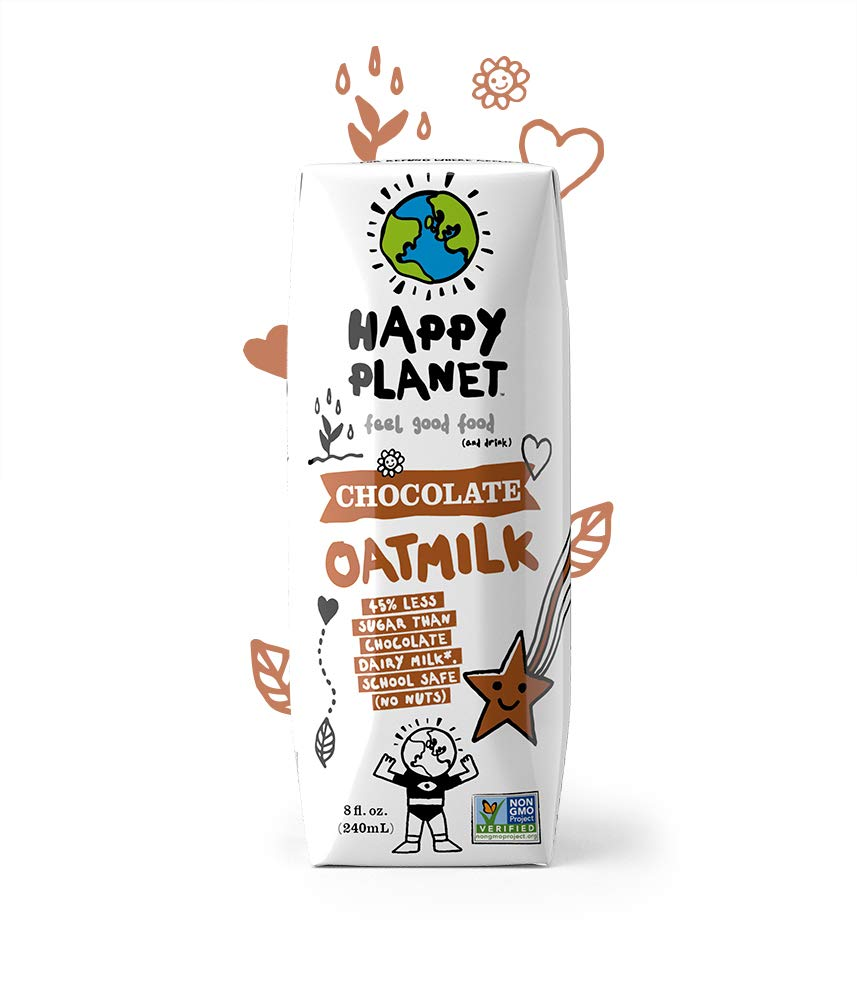 Happy Planet Oat Milk Chocolate 8 oz Pack of 24 by Happy Planet