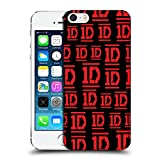 iphone 5 cases one direction - Official One Direction Red On Black Bar Form Logo Designs Hard Back Case for iPhone 5 iPhone 5s iPhone SE