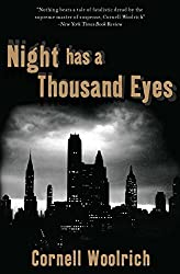 Night Has a Thousand Eyes by Cornell Woolrich horror book reviews