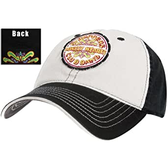 The Beatles - Mens Beatles - Sgt Peppers Fitted Baseball Cap White