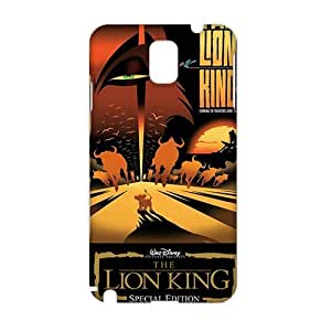 3D Case Cover Cartoon The Lion King Phone Case for Samsung Galaxy Note3