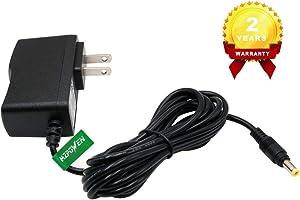 New Adapter for Casio Keyboards SA-46 SA-47 SA76 SA-77 SA-78 LK-120 LK-125 LK-127 LK-160 LK-165 LK-240 LK-247 LK-280 CTK-240 CTK-245 CTK-1100 CTK-1150 CTK-1200 CTK-2080 CTK-2300 Power Supply Charger