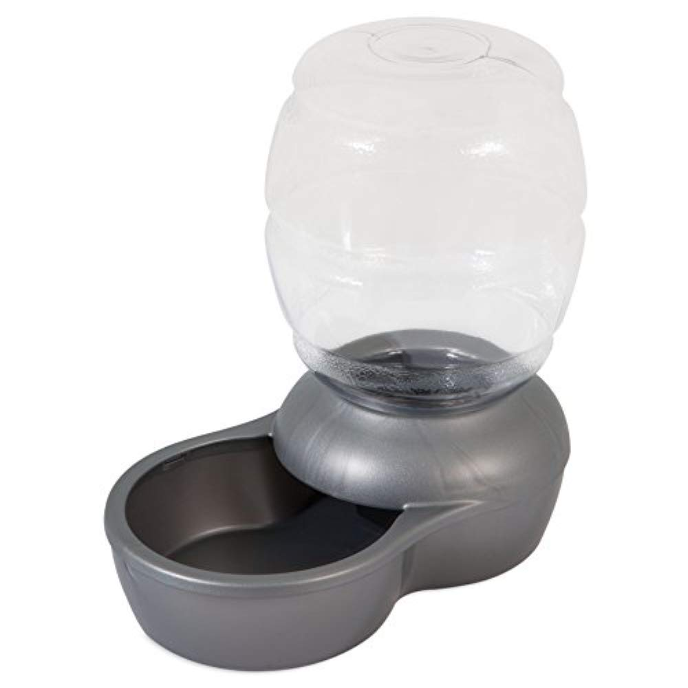 Petmate Replendish Gravity Waterer with Microban Cat and Dog Water Dispenser 4 Sizes by Petmate
