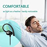 Wireless Sports Bluetooth Headphones V4.1 Shake Proof Earphones with Mic IPX5 Waterproof HD Sound with Bass Magnetic attachment Earbuds for Gym Running Driving Leisure 9 Hour Battery Headsets c