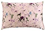 #8: SLPBABY Silk Pillowcase for Hair and Skin with Hidden Zipper Print