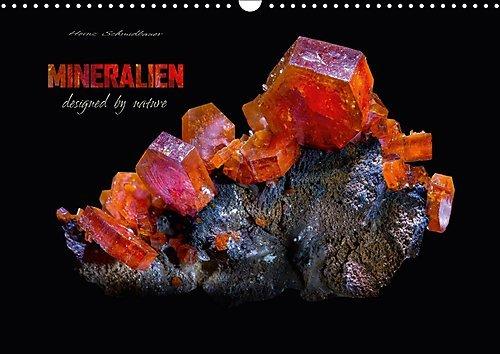 MINERALIEN designed by nature (Wandkalender 2017 DIN A3 quer): Eine Auswahl wunderschöner kristalliner Mineralen. (Monatskalender, 14 Seiten ) (CALVENDO Natur)