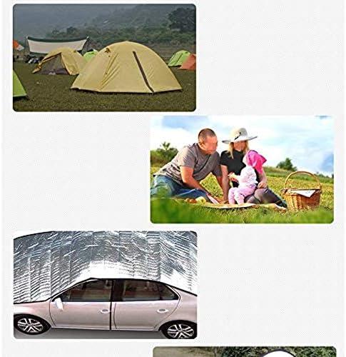 WYH - Materassino da picnic, colore: Argento, 300×300cm