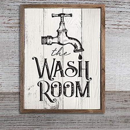 Liwendi économie D Eau Affiche De Salle De Bain Toile De Mur Wall Art Print Affiche Décoration De La Maison 40 50cm Amazon Fr Cuisine Maison