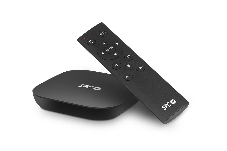 SPC Smart TV Alien 9207108N- Dispositivo software para TV, Android 4.4, color negro