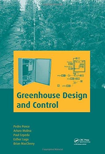 Greenhouse Design and Control por Esther Lugo,Brian MacCleery