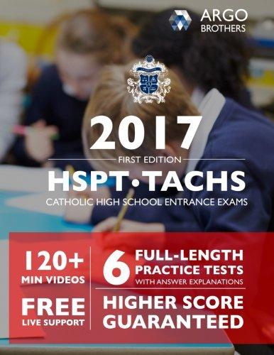 Catholic High School Entrance Exams - TACHS /HSPT 2016-2017 Test Prep