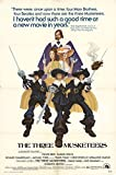 "The Three Musketeers 1974 Authentic 27"" x 41"" Original Movie Poster Raquel Welch Comedy U.S. One Sheet"
