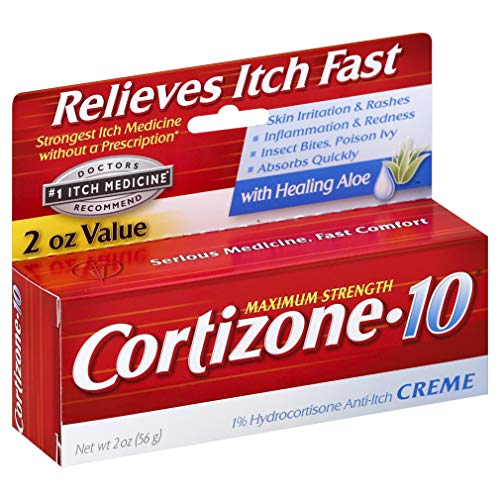 Cortizone-10 Max Strength Anti-Itch Creme, 2 Ounces (2 Packs)