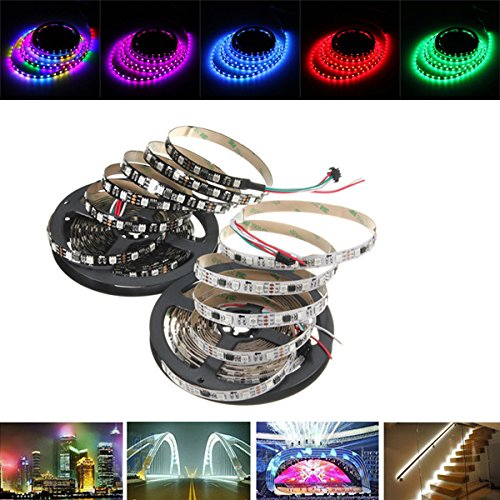 Indoor Color Guard Costumes (Led Strip Lights - 1m/4m/5m Ws2811 Ic Smd5050 Dream Color Rgb Waterproof Led Strip Light Individual Addressable Dc12v - 1PCs)