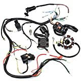 lifan 150cc engine - Complete Wiring Harness kit Wire loom Electrics Stator Coil CDI For ATV QUAD 4 Four wheelers 150CC 200CC 250CC Go Kart Dirt Pit Bikes