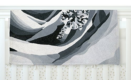 KESS InHouse NL Designs Happy Engagement Gray White Fleece Baby Blanket 40 x 30 [並行輸入品]   B0785R2VLH