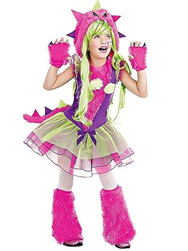 SugarSugar Fur-Ocious Lil Creature Costume, Medium (Lil Monster Halloween Costume)