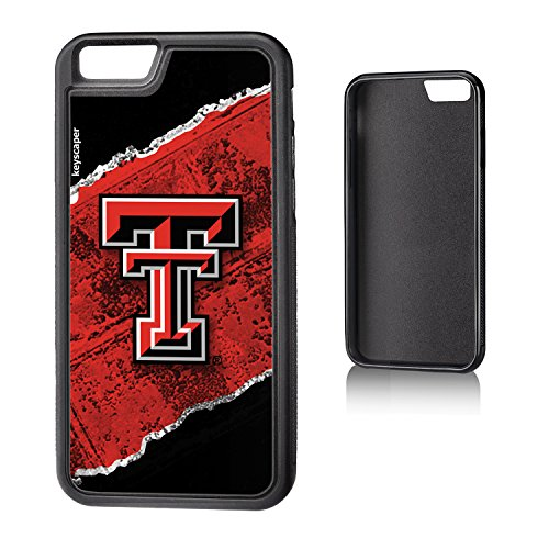 Tech Raiders Bumper Texas Red - Texas Tech Red Raiders iPhone 6 & iPhone 6s Bumper Case officially licensed by Texas Tech for the Apple iPhone 6 by keyscaper® Flexible Full Coverage Low Profile