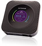 Nighthawk Hotspot MR1100 Router Mobile 4G LTE Fino a 1 Gbps, Collega Fino a 20 Dispositivi, Data Offload, Failover LTE, Base Station da Viaggio per Telecamere a Batteria Arlo