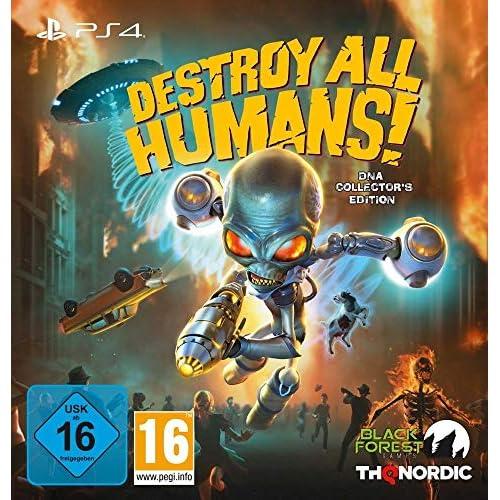 chollos oferta descuentos barato Destroy All Humans DNA Collector s Edition PS4