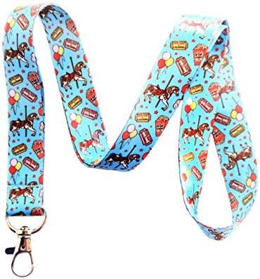 Carnival Horse Schlüsselband Schlüsselband ID Badge Holder