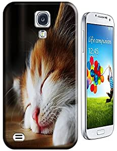I am tired I want sleep cat lovely cat cell phone cases for Samsung Galaxy S4