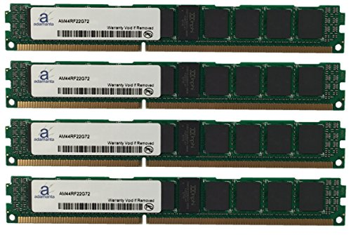 (Adamanta 64GB (4x16GB) Server RAM Upgrade for IBM BladeCenter HS23 7875 DDR3 1600Mhz PC3-12800 ECC Registered VLP 2Rx4 CL11 1.5v)