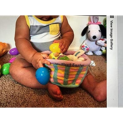 Baby's My First Easter Basket Playset- Baby Gund: Health & Personal Care