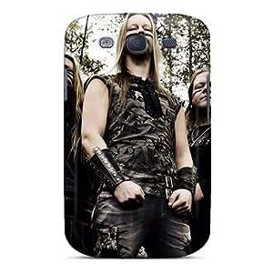 Samsung Galaxy S3 AGh6130vzxI Custom Attractive Korpiklaani Band Skin Durable Hard Phone Cover -DannyLCHEUNG