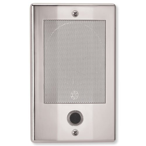 Nutone Door Speaker In Polished Nickel Finish