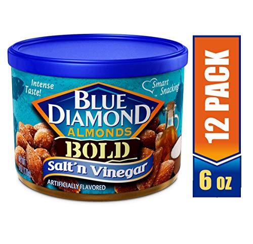 (Blue Diamond Almonds, Bold Salt & Vinegar, 6 Ounce (Pack of 12))