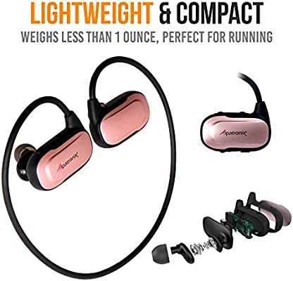 Alpatronix HX250 - Auriculares inalámbricos con Bluetooth ...