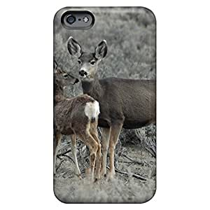 iphone 6plus 6p Bumper cell phone carrying shells Fashionable Design case mother deer fawn