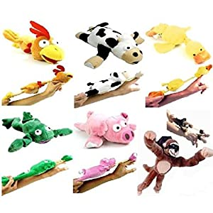 Flingshot Flying Animals with Sound Monkey Pig Chicken Cow Duck Frog