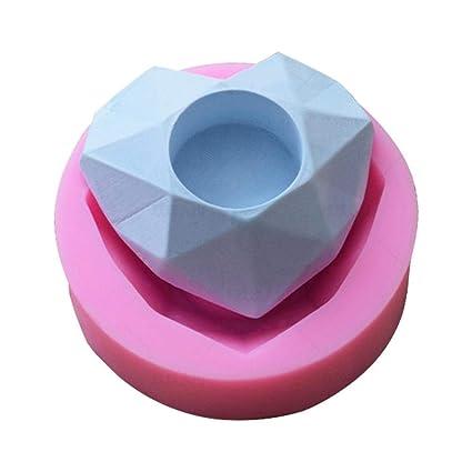Zedo - Molde de silicona Suministros para hornear Molde de mano Bricolaje Pastel para hornear Molde