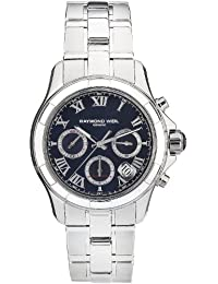 Raymond Weil Parsifal Automatic Chronograph Steel Mens Watch Date 7260-ST-00208