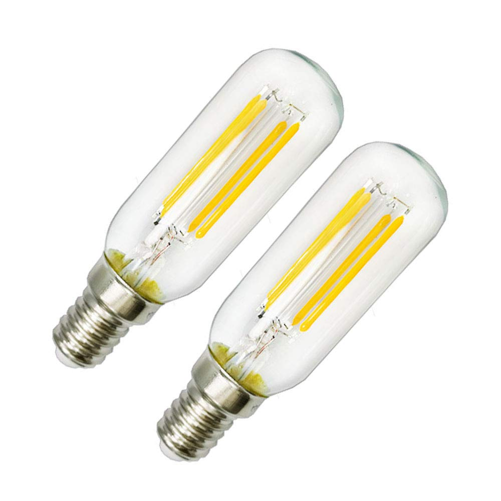 sale retailer 2c368 1eced 4W LED Cooker Hood Light Bulb E14 Warm White 2700K T25 Tube Filament Bulbs  40W Incandescent Replacement Small Edison Screw Non-dimmable Appliance for  ...